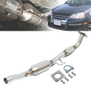 Fit 01 06 Vw Golf Jetta Beetle 2 0l Engine Catalytic Converter Flex Exhaust Pipe