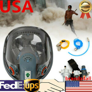 Air Fed Respirator System Full Face Mask Continuous Flow Supplied 3 Stage Filter