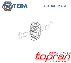Topran Front Air Conditioning Expansion Valve 112 306 P New Oe Replacement