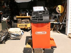 Accu Turn Wheel Balancer With Truck Adapter Cones Price Reduced