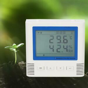 20 60 c Temperature Humidity Recorder Usb Lcd Large Screen Wide Viewing Angle