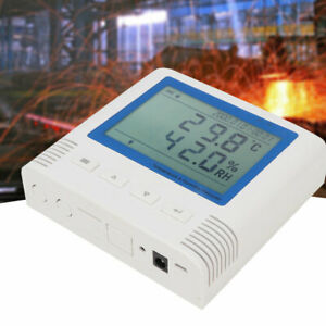 20 60 c 0 99 9 rh Lcd Usb Temperature And Humidity Recorder 4 Million Groups