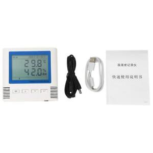 20 60 c Usb Lcd Temperature Humidity Recorder Large Screen 4 Million Groups