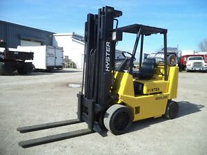 Hyster Model S80xl 2 Bcs 8 000 8000 Cushion Tired Forklift Lpg Powered