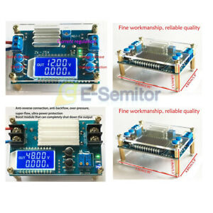Dc dc Boost Buck Step up down Constant Voltage Current Power Supply Module Case