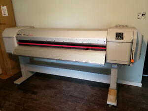 Mutoh Valuejet Printer 1628x With White Silver Mutoh Valuecut 1800 Cutter