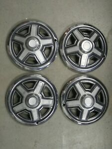 4 X 13 Vintage Camper Trailer Wheel Cover Hubcap Wilderness Coleman Ideal Terry