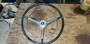 1967 67 Dodge Charger Steering Wheel Complete Set Up Coronet B body Horn Ring 68