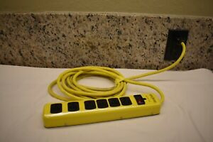 Yellow Jacket 5138n 5138 Metal Surge Protector Strip 15 foot Cord 6 outlet