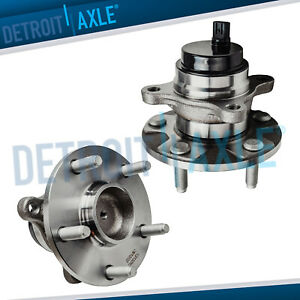 2 Front Wheel Bearings Hubs For Rwd Lexus Gs350 Gs430 Gs460 Is250 Is350