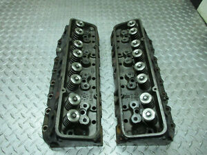World Products I 037 Cylinder Heads Sbc This Is 2 Heads A Set Small Block Chevy