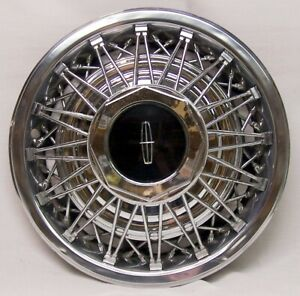 Lincoln Town Car Wire Hubcap Late 70 s Early 90 s Pre owned Nice Condition