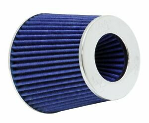 K n Rg 1001bl Universal Clamp on Air Filter Round Tapered 3 In 3 5 In 4 In 10