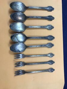 International Silver Company The Drake Hotel Forks Spoons