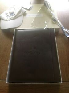 Cutter Buck first Energy Stadium Leather Zippered Portfolio Pad New