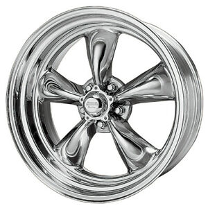 1 New 15x8 American Racing Torq Thrust Ii 1 Pc Polished Wheel 5x114 3 15 8 Et 18