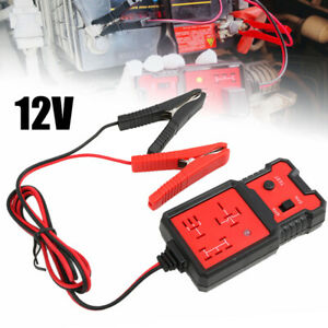 12v Electronic Automotive Relay Tester Universal For Cars Auto Battery Checker