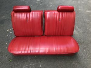 1969 1968 1970 1971 1972 Chevelle Gs Ss 2 Dr Front Split Bench Seat