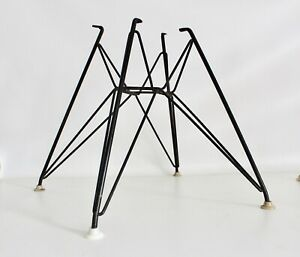1 Eames Herman Miller Vtg Mid Century Modern Eiffel Tower Arm Shell Chair Base