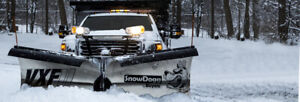 Snowdogg G2 Stainless Vxf 9 5 V plow With Wiring Mount Hardware