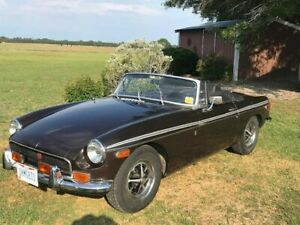 1972 Mg Mgb Sports Car Great Unrestored Brit Maintained 49596 Miles