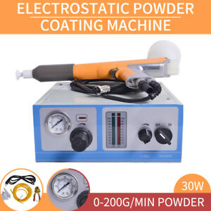 Powder Coating System With Spraying Gun Electrostatic Spraying Machine 110v