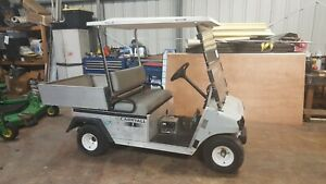 2009 Club Car Carry All Electric 48 Volt With Charger And Wind Shield