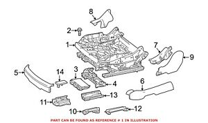 For Mercedes Genuine Seat Adjuster Right 0009105204