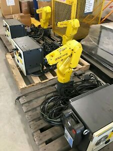 Fanuc Lr Mate 200id 4s R 30ib Mate With Teaching Pendant cables Lot Of 3 Robots
