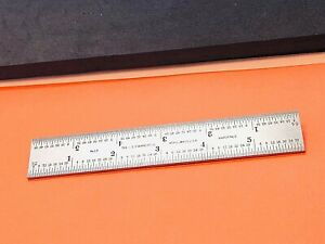 Starrett No 13 6 Inch Long Double Square Blade Made In The Usa