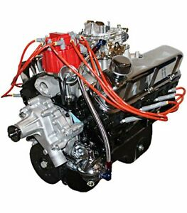 Ford 347ci Stroker Crate Engine Small Block Ford Iron Heads Flat Tappet Carb