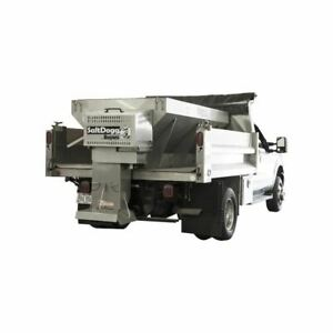 Buyers Gas 10 Stainless V Box Spreader Extended Chute 2 5 Yards
