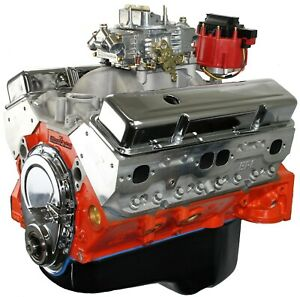 Small Block Chevrolet 454ci Crate Engine 580hp 572ft Lbs Forged Internals