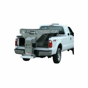 Buyers Saltdogg 2 Yard 8 Electric V Box Spreader Extended Stainless Chute