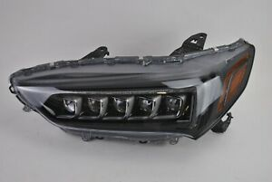 Perfect 2018 2019 Acura Tlx A Spec Left Driver Side Led Black Headlight Oem