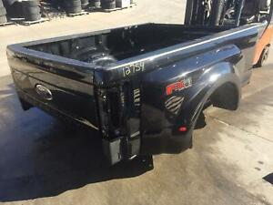 2017 2019 Ford F350 Black Superduty Dually Bed 8ft W Gate Lights F 350