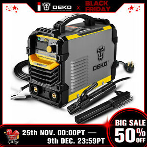 Deko 110 220v Mma Arc Welder Machine Igbt Digital Display Lcd Hot Start Welder