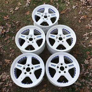 Rays Volk Racing Te37 16x8 33 5x114 Wheels Rims White Te16 Jdm