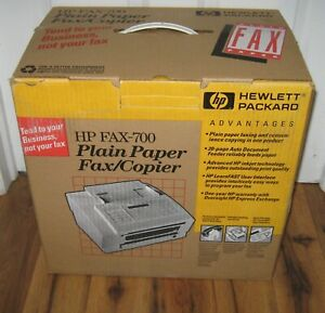 Vintage 1990s 1994 Hp Hewlett Packard 700 Fax copier C3530a Box Manual Rare