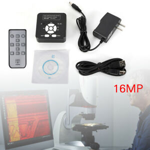 Microscope 16mp Hdmi Usb Industry 1080p Digital Zoom C mount Video Recoder Tools