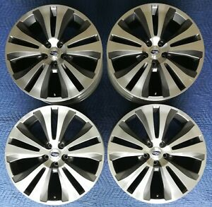 Subaru Ascent Oem 20 Wheels Limited Touring Excellent Condition