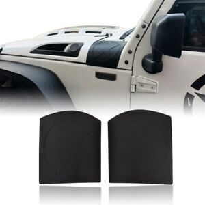 2pcs Five Star Cowl Body Armor Abs Side Cover Trim For 07 18 Jeep Wrangler Jk