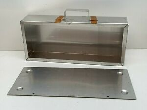 Aluminum Chassis Box With Lid 14 X 6 X 3