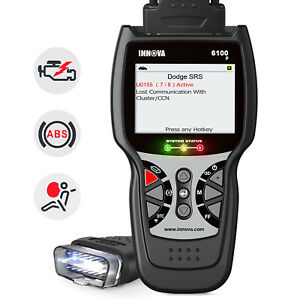 Innova 7100p Code Reader Scanner Obdii Obd 2 Can Abs As Innova 3160g Us Stock