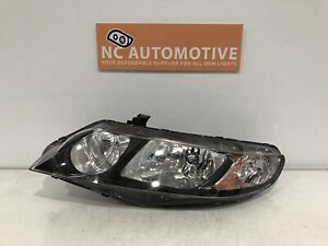 2006 2007 2008 2009 2010 2011 Honda Civic Headlight Driver Left Halogen Oem C113