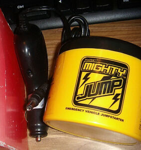 Nib Mighty Jump Pro Emergency Jump Car Starter Battery Charger Yellow