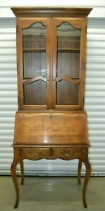 Ethan Allen Country French Secretary Birch 26 9305 26 9304 236 Fruitwood A