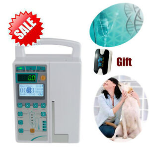 Ce Veterinary Or Human Iv Fluid Infusion Pump Equipment With Voice Alarm Us Ship
