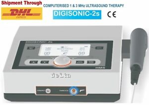 Ultrasound Therapy Machine 1 3 Mhz Physical Pain Relief Lcd Dual Frequency