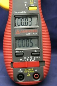 Amprobe Acd 14 Plus Dual Display Digital Clamp Multimeter F2b8